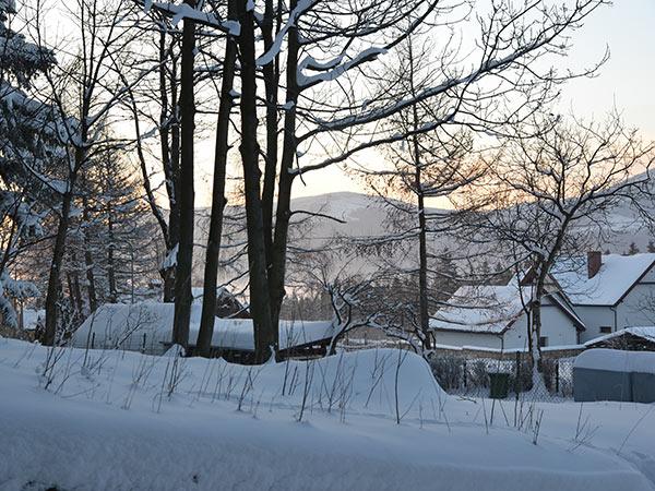 Karpacz widok na góry